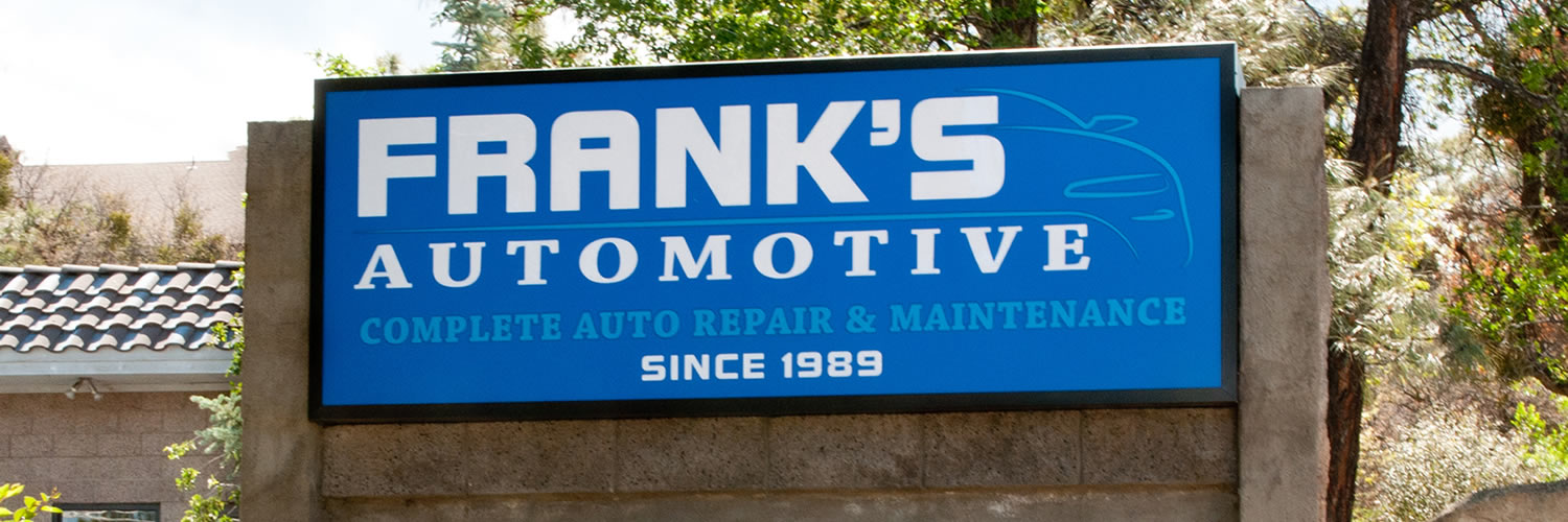 Frank's Auto Service and Repair, Prescott, Arizona